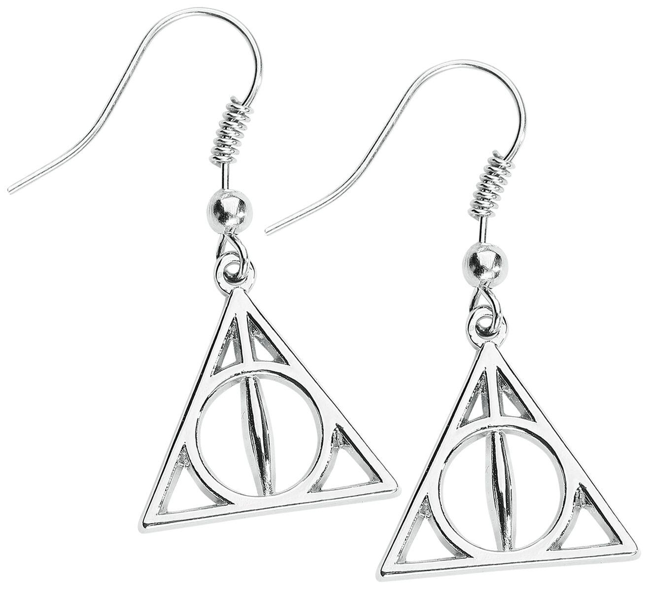 Ohrringe - Harry Potter Heiligtümer des Todes Ohrhänger Standard  - Onlineshop EMP