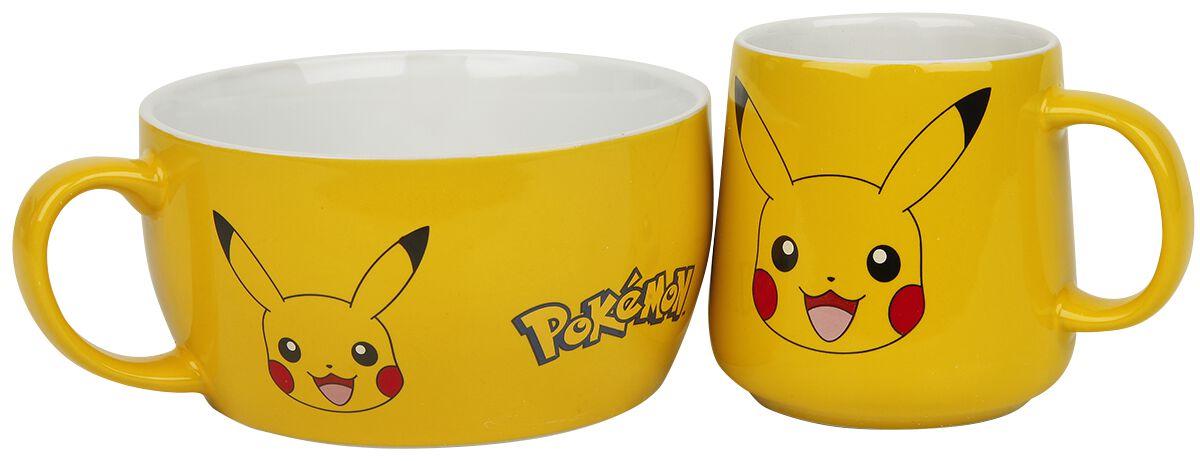 Pokémon Pikachu Tassen-Set gelb BS0003