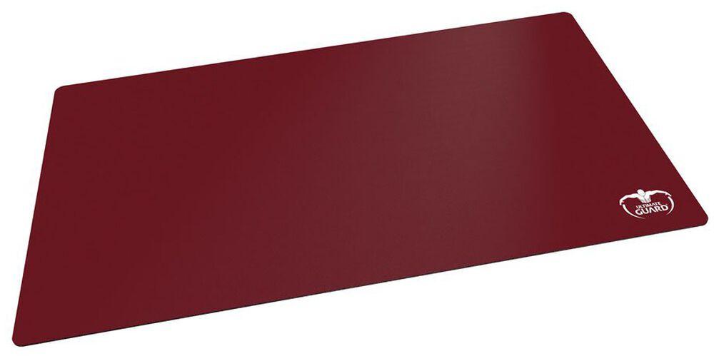 Spielmatte - Monochrome Bordeauxrot