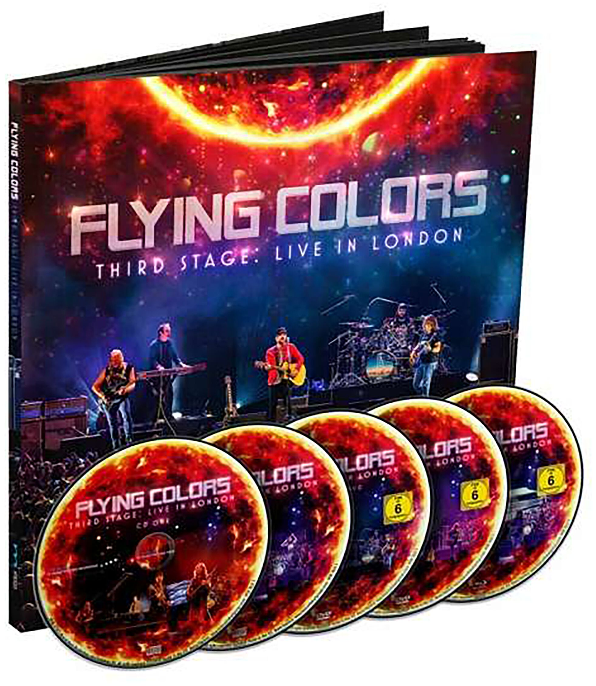 Image of Flying Colors Third stage: Live in London 2-CD & 2-DVD & Blu-ray Standard
