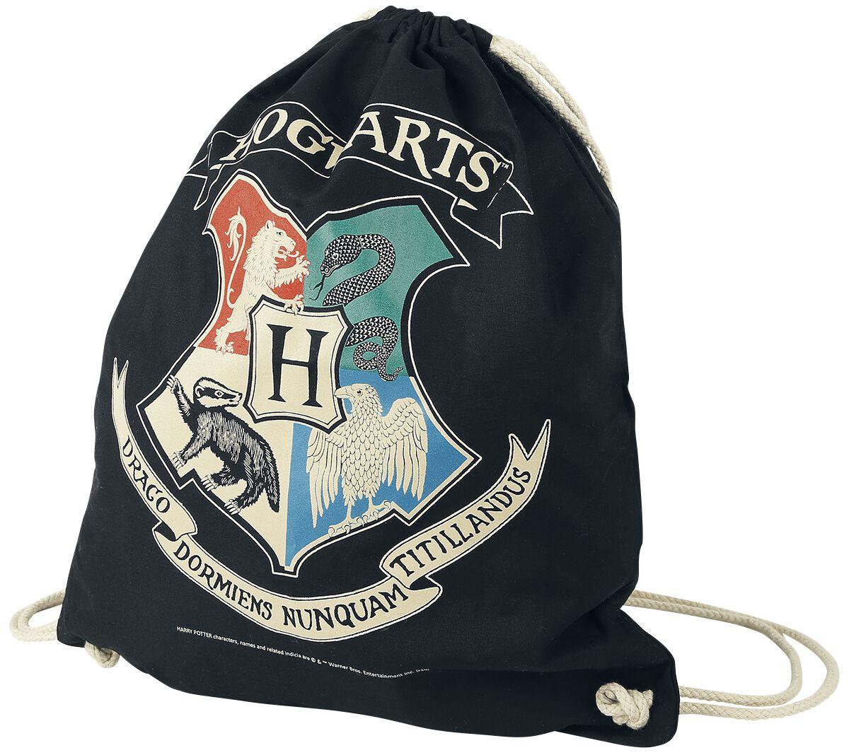 Sporttaschen - Harry Potter Hogwarts Turnbeutel multicolor  - Onlineshop EMP