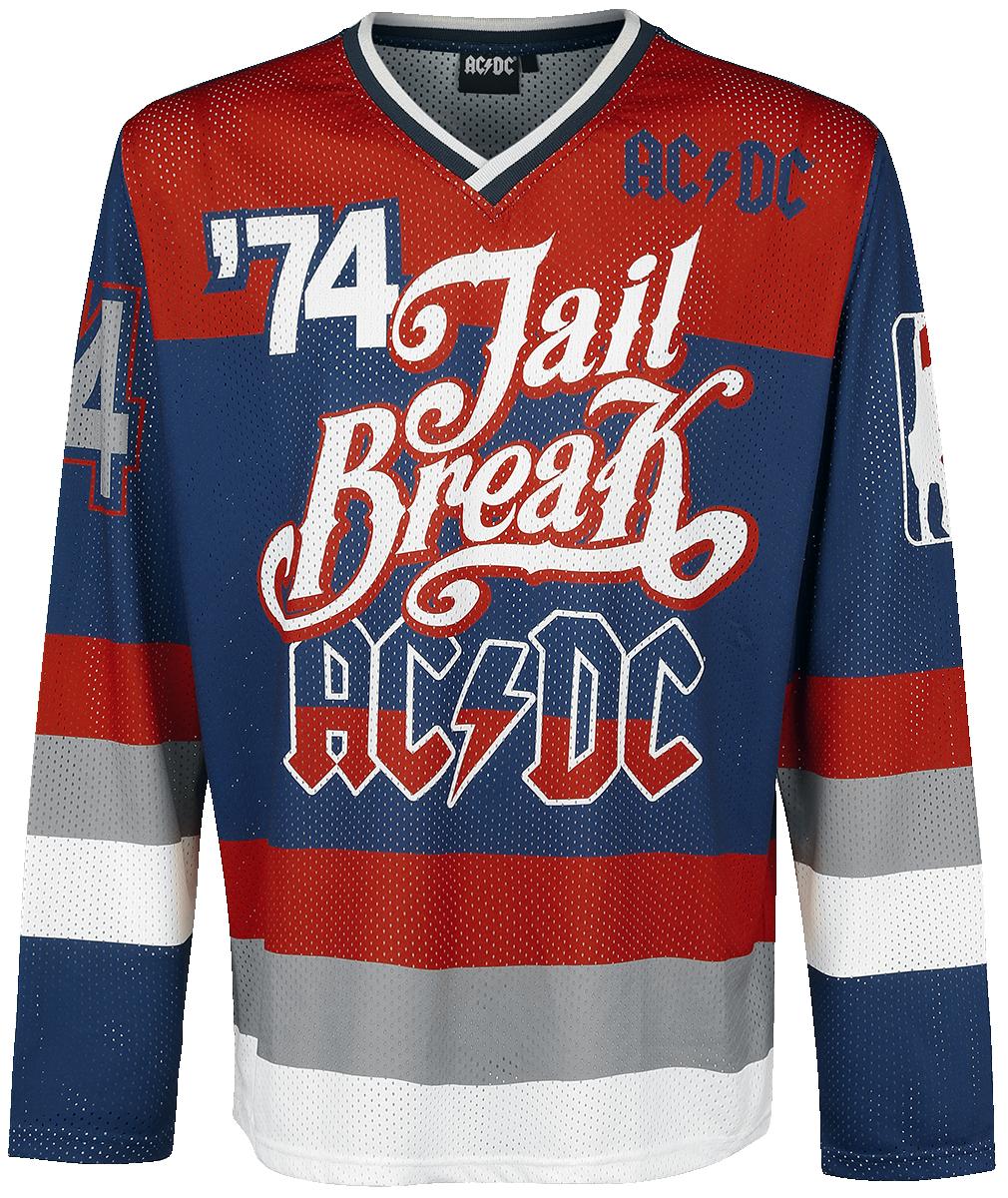 AC/DC - Jail Breakers '74 - Longsleeve - multicolour image