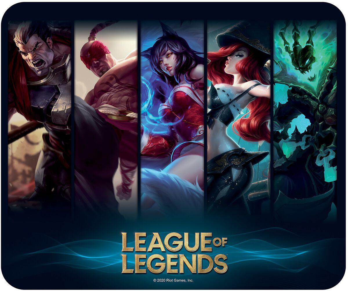 League Of Legends Champions  Mouse-Pad  multicolor