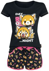 Aggretsuko Day Night