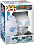 3 - Light Fury Vinyl Figure 687