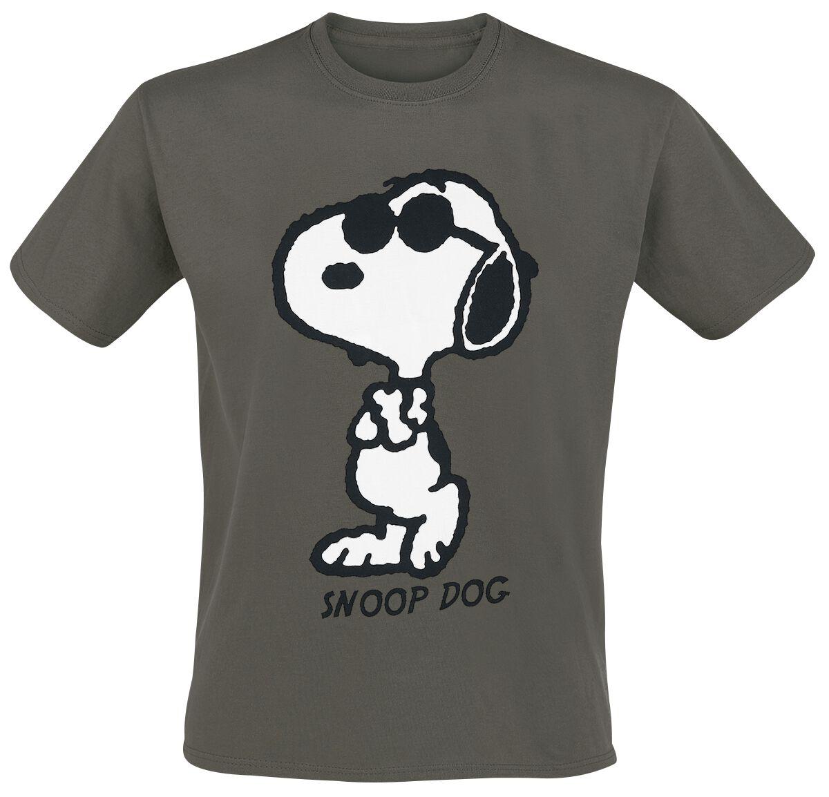 Peanuts Snoop Dog T-Shirt khaki MEPEANU TS026