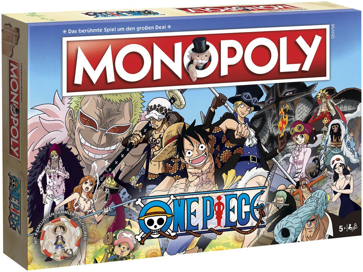 Image of One Piece Monopoly Brettspiel Standard