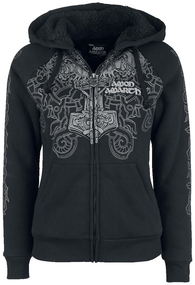 Amon Amarth - EMP Signature Collection - Girls hooded zip - black image