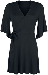 Side Knotted Sleeve Dress