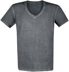 T-Shirt mit Vintage-Waschung