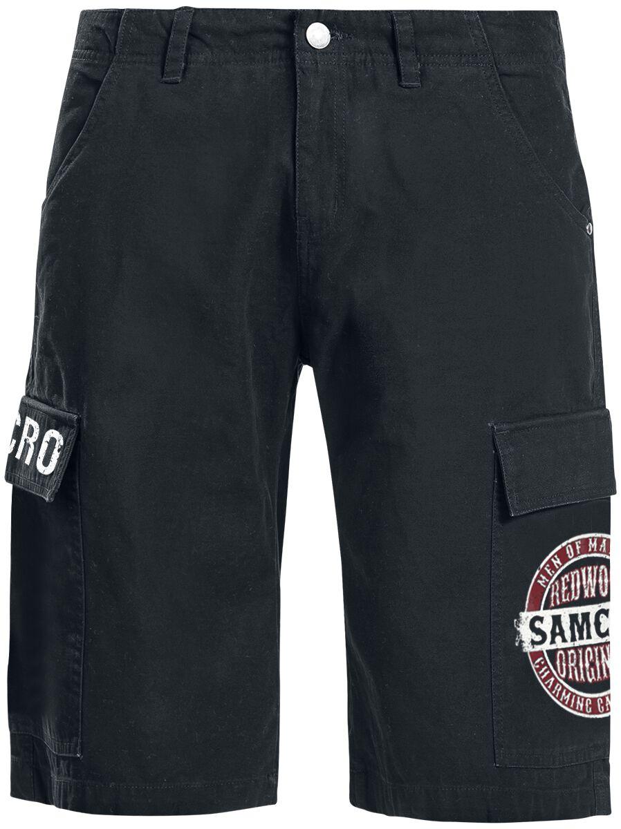 Image of Sons Of Anarchy Redwood Original Cargo-Shorts schwarz