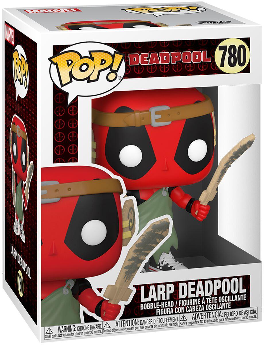 Deadpool 30th Anniversary - Larp Deadpool Vinyl Figur 780 Funko Pop! multicolor 54690