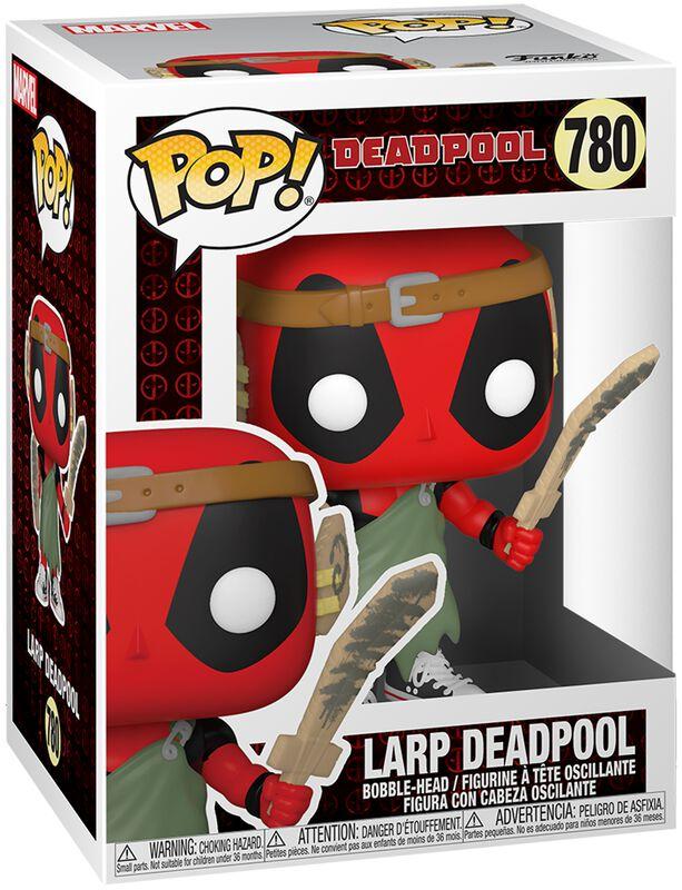 30th Anniversary - Larp Deadpool Vinyl Figur 780