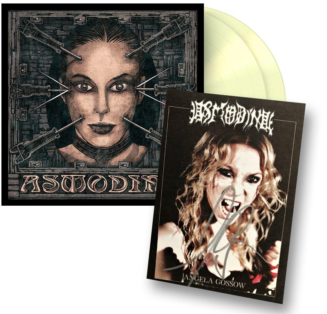 Asmodina Inferno (inkl. Autogrammkarte) LP glows in the dark GITD