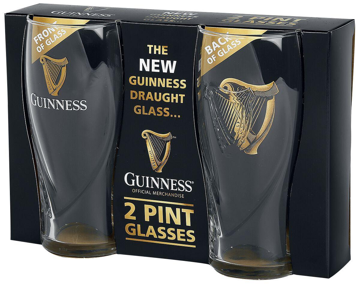 Guinness Guinness Logo Pint-Glas klar 02643