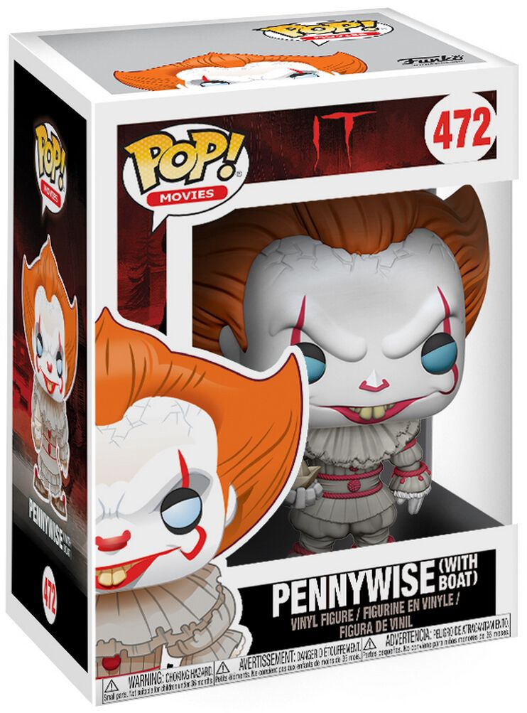 ES Pennywise (with Boat) Vinyl Figure 472 powered by EMP