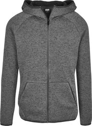 Knit Fleece Zip Hoody