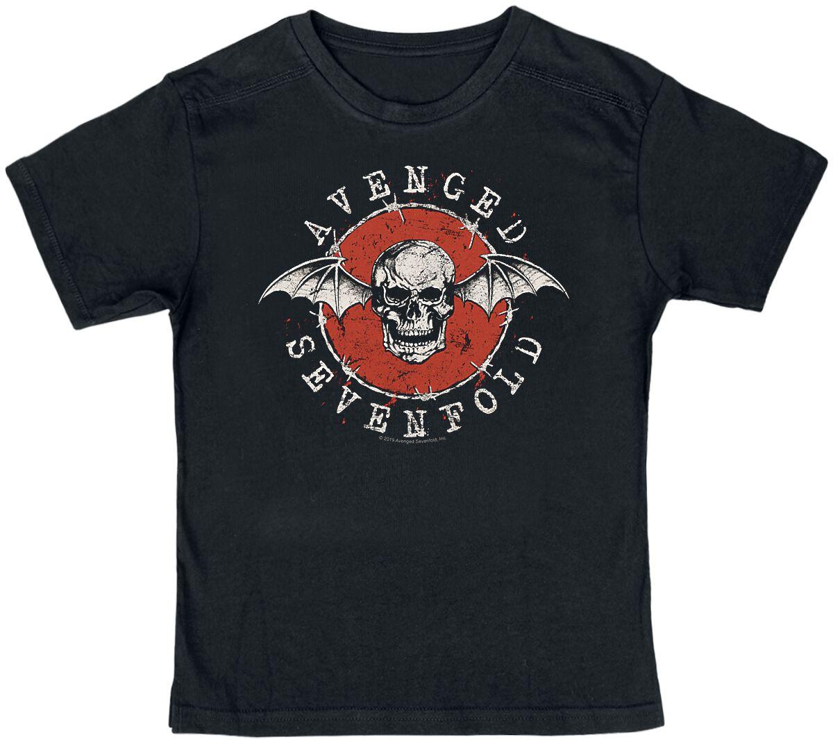 Image of Avenged Sevenfold New Deathbat Kinder-Shirt schwarz