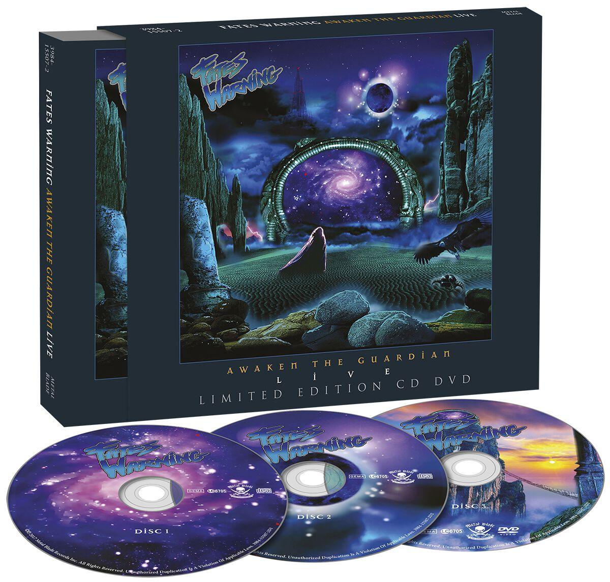 Image of Fates Warning Awaken the guardian - Live 2-CD & DVD Standard