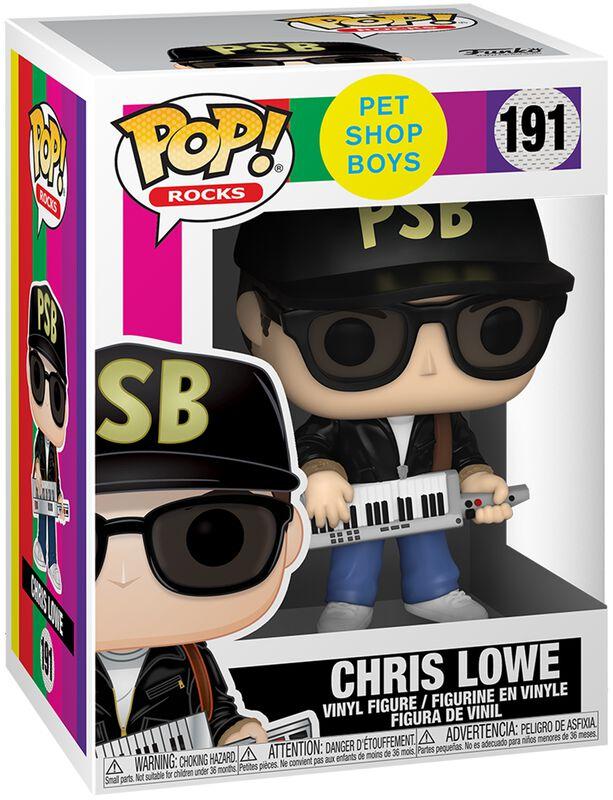 Chris Lowe Rocks Vinyl Figur 191