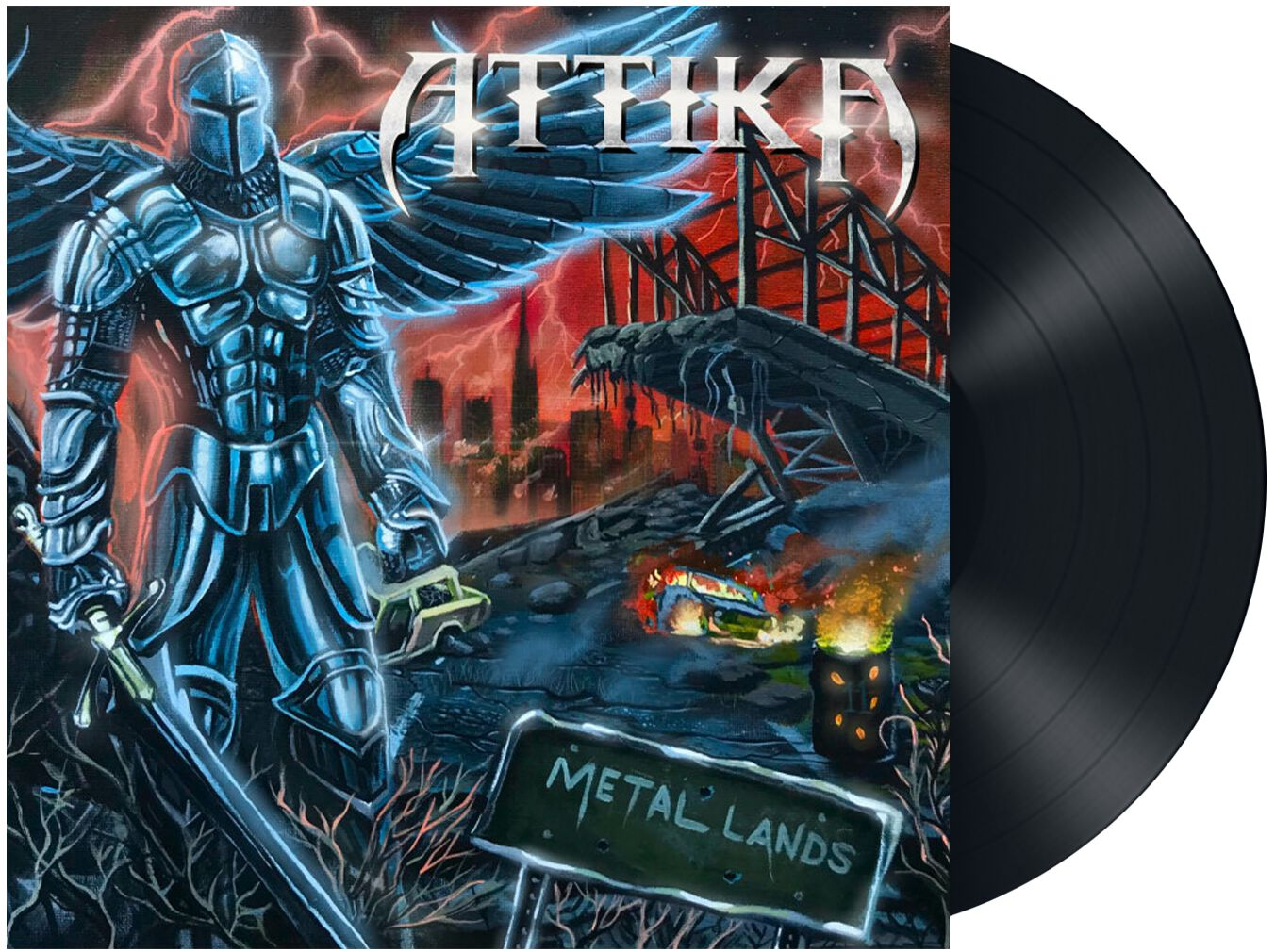 Image of Attika Metal land LP Standard