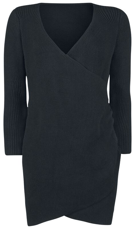 Knitted Winter Asymetric Dress