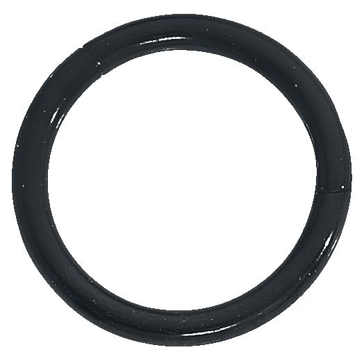 Wildcat - Segmentring mit Scharnier - Ring - schwarz
