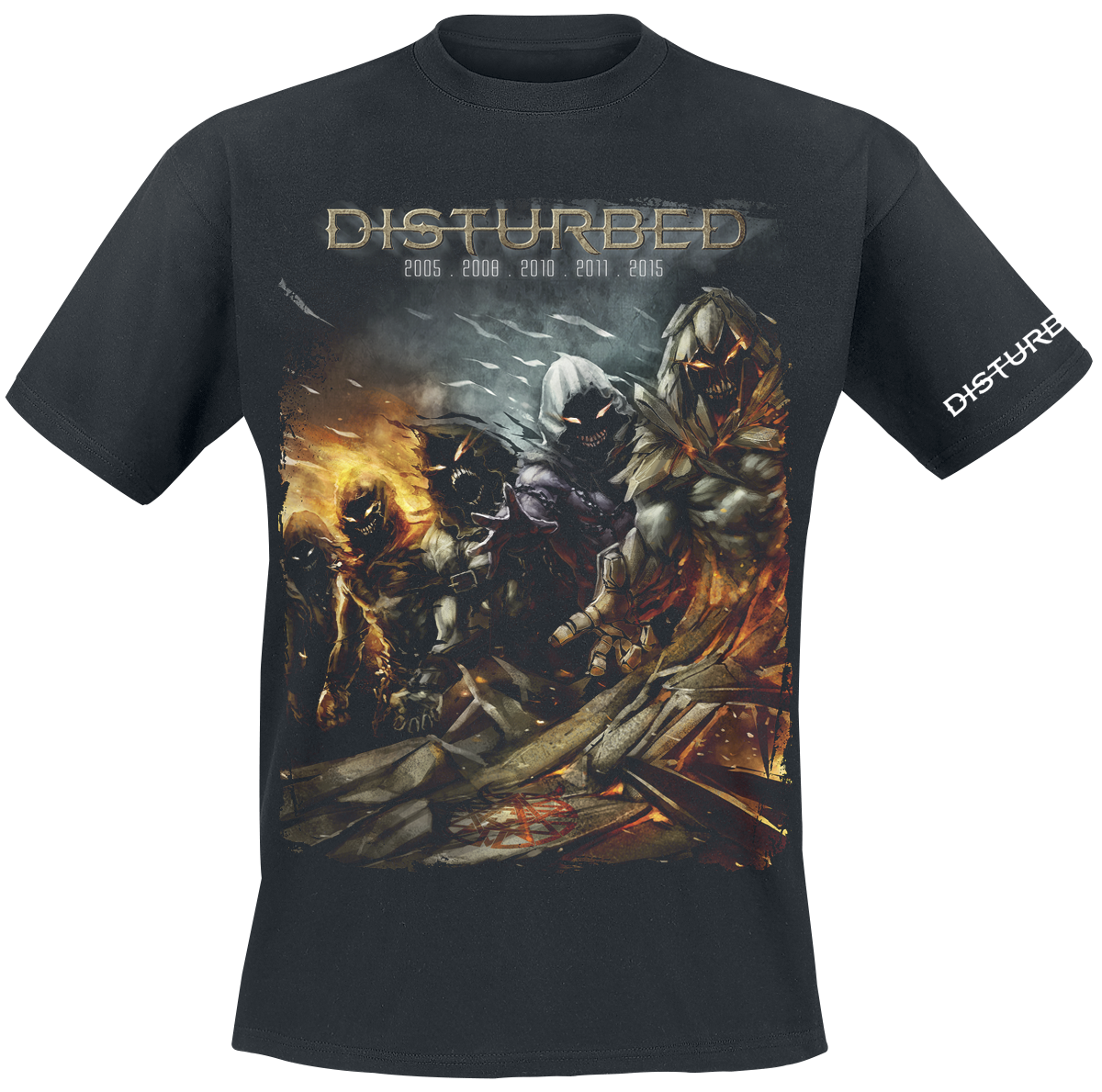 Disturbed - Evolution - The Guy - T-Shirt - black image