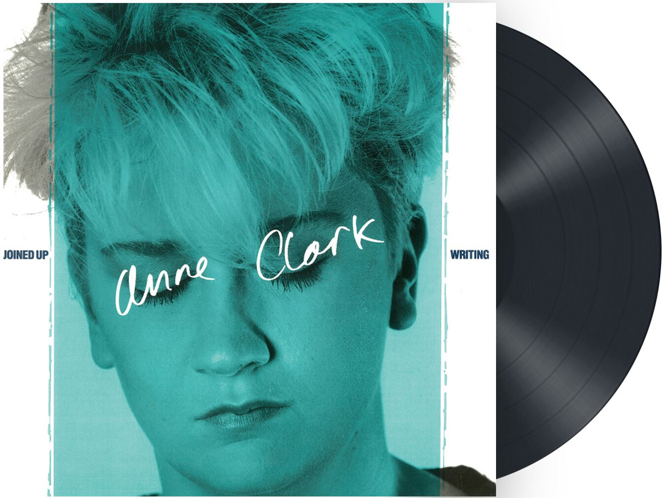 Image of Anne Clark Joined up writing LP schwarz