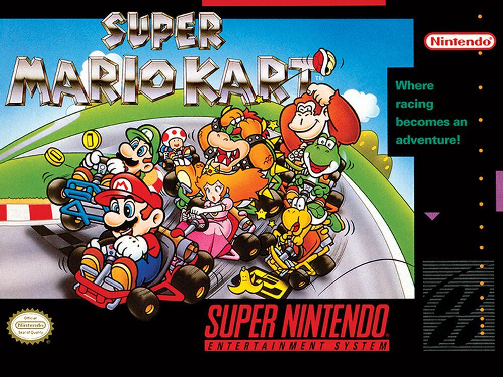 Super Mario Kart - Super Nintendo