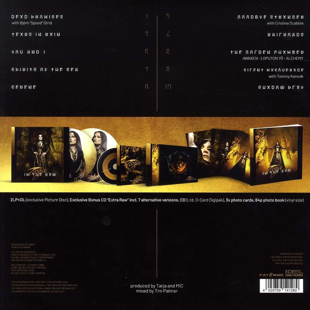 Image of Tarja In the raw 2-CD & 2-LP Standard