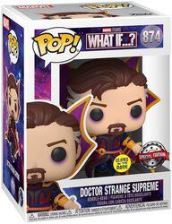 What If...? Doctor Strange Supreme (Glow In The Dark) Vinyl Figur 874