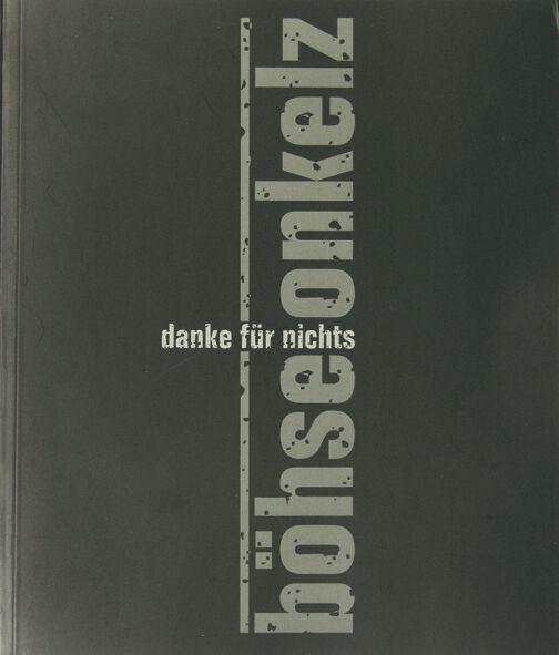 Image of Böhse Onkelz Danke für nichts Broschur Standard