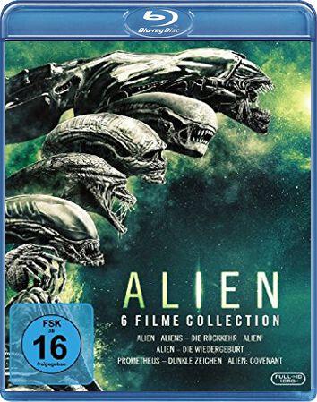 Image of Alien Komplettbox 6-Blu-ray Standard