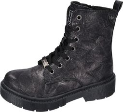 Silver Metallic Boots