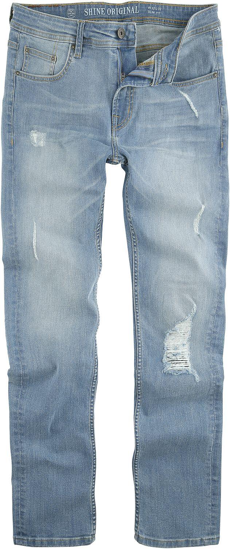 Shine Original Slim Fit Jeans Sky Blue Jeans hellblau 2-000001SKY Sky Blue