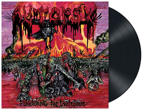 Image of Autopsy Puncturing the grotesque EP schwarz