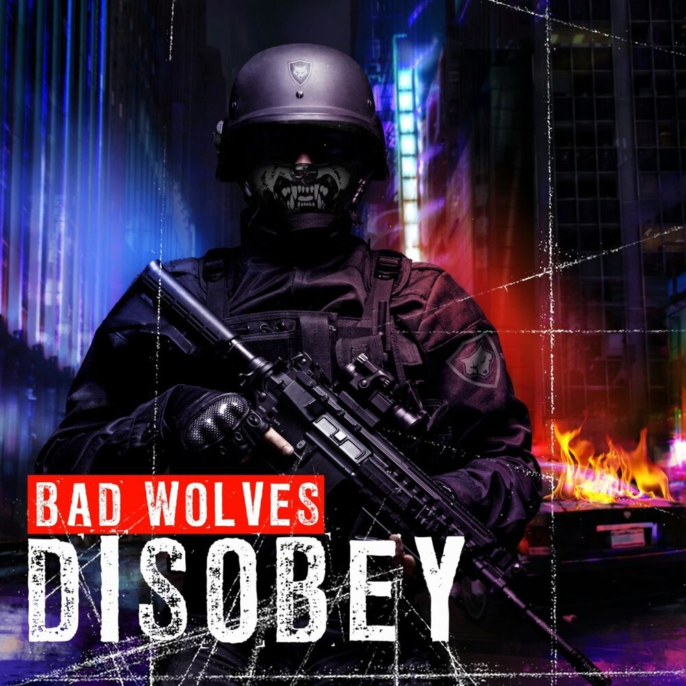 Image of Bad Wolves Disobey CD Standard