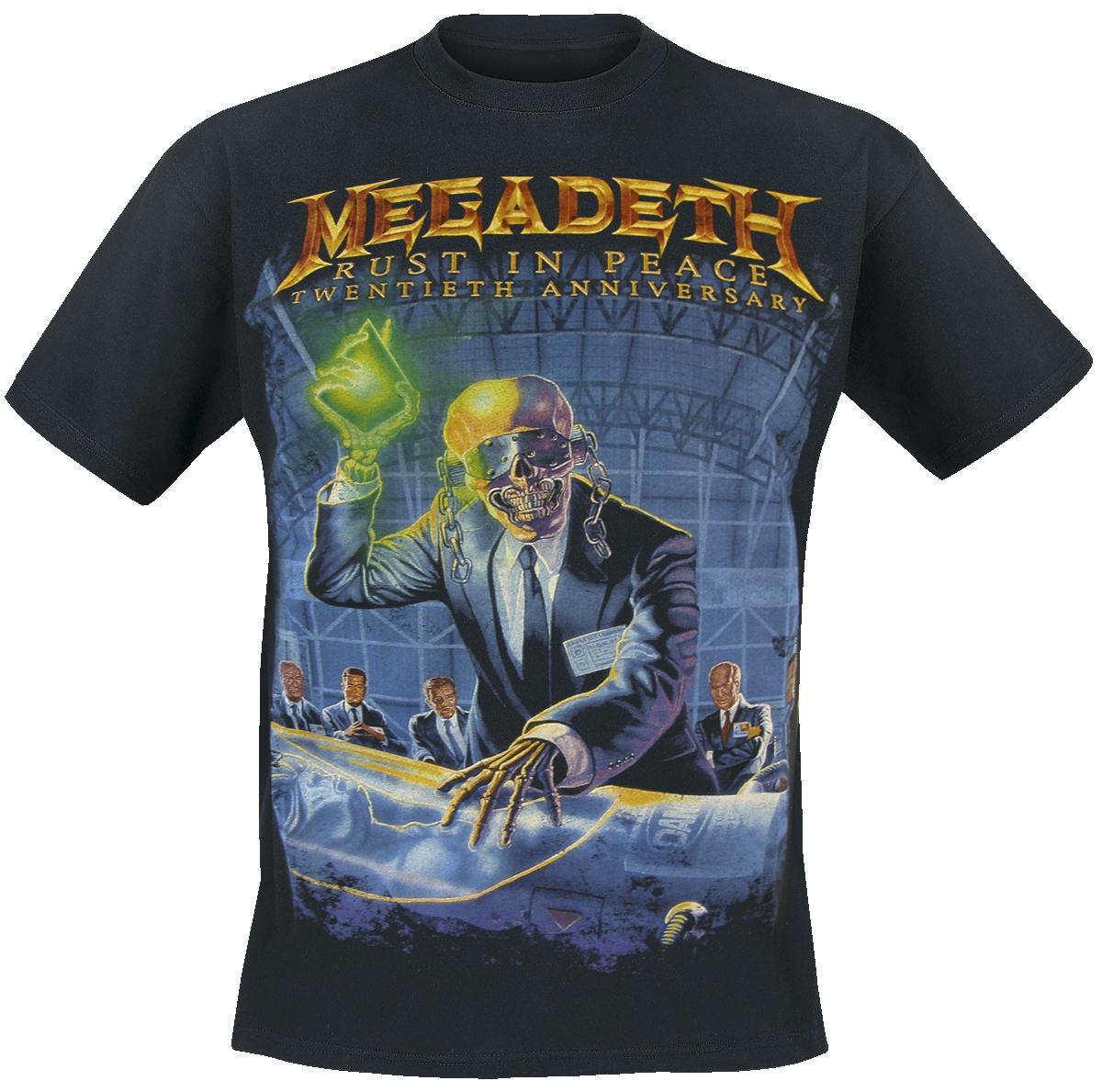 Megadeth - Rust In Peace (Anniversary) - T-Shirt - black image