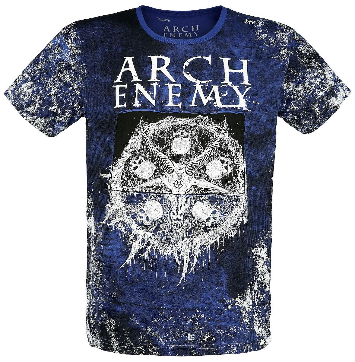 Image of Arch Enemy EMP Signature Collection T-Shirt blau/grau