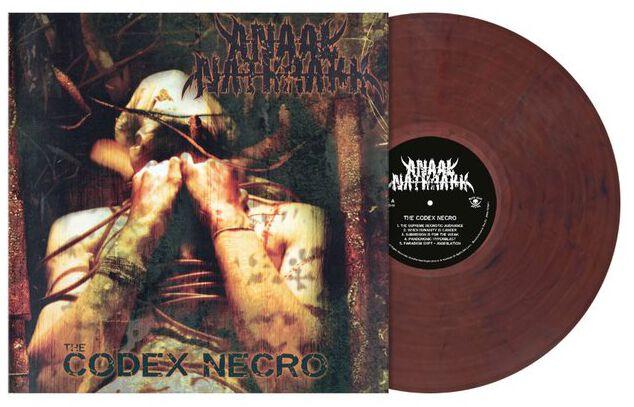 Image of Anaal Nathrakh The codex necro LP farbig