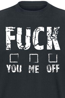 T-Shirt + Tasse Fuck You Me Off