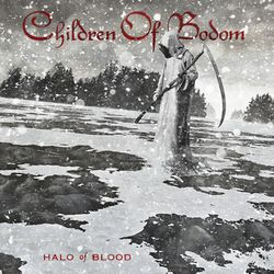 Halo of blood