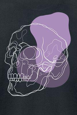 Skull In Lilac