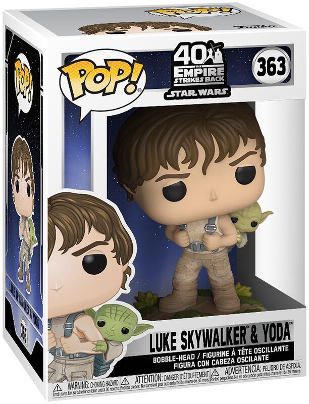 Empire Strikes Back 40th Anniversary - Luke Skywalker & Yoda Vinyl Figur 363