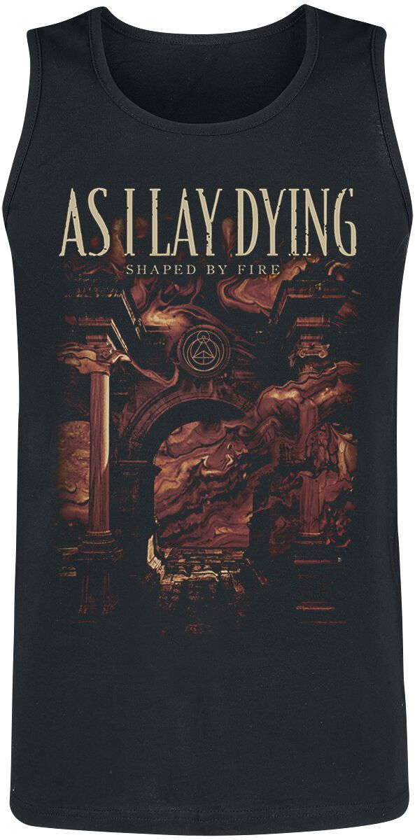 As I Lay Dying Shaped By Fire Tanktop black