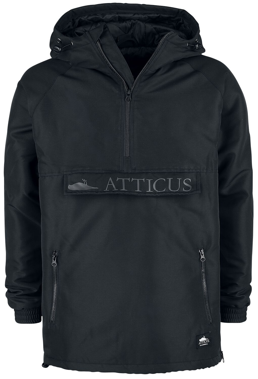 Image of Atticus Francis Hooded Anorak Jacket Winterjacke schwarz