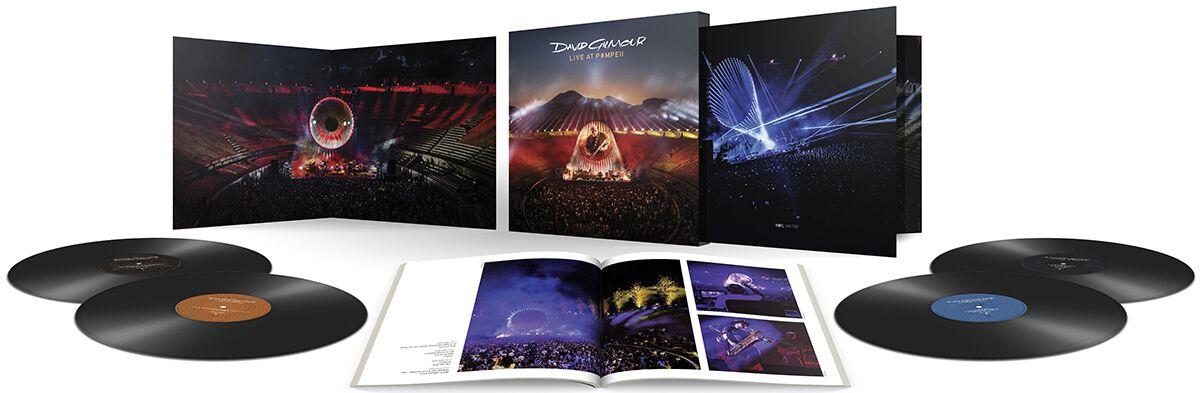 Image of David Gilmour Live at Pompeii 4-LP Standard