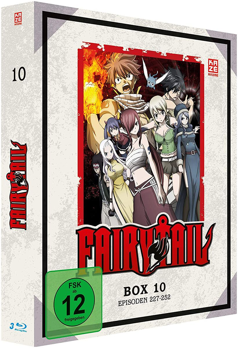 Image of Fairy Tail Box 10 - Episoden 227-252 3-Blu-ray Standard