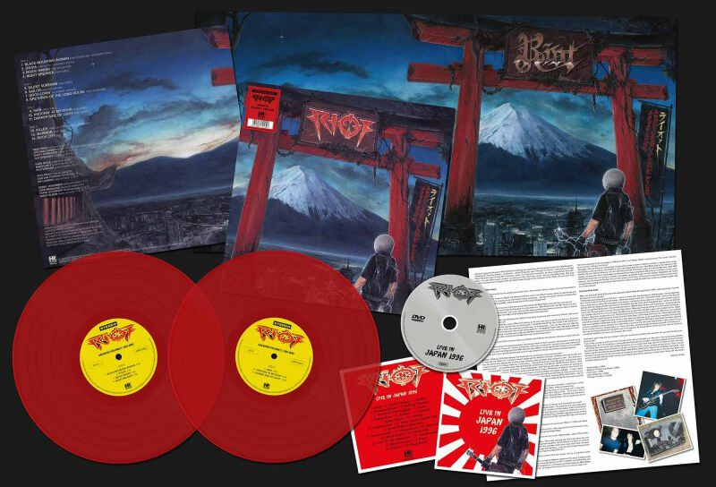 Image of Riot Archives Volume 5: 1992-2005 2-LP & DVD rot